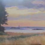"""Sunset, Minot LightOil on Canvas, 8"""" x 10"""""""